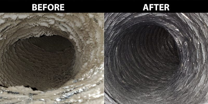 Lot of Dirt in Air Duct